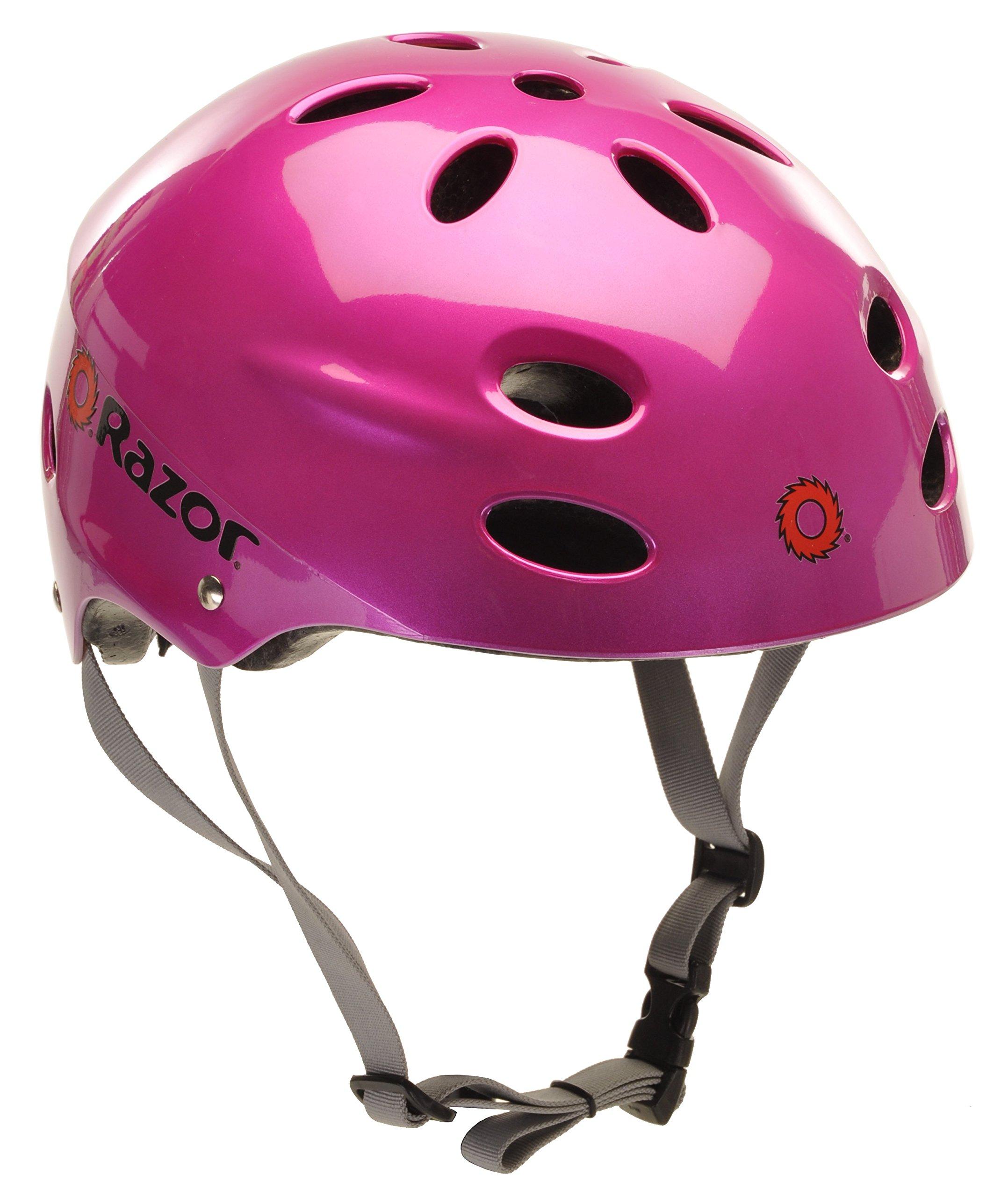 Razor V-17 Youth Multi-Sport Helmet, Magenta