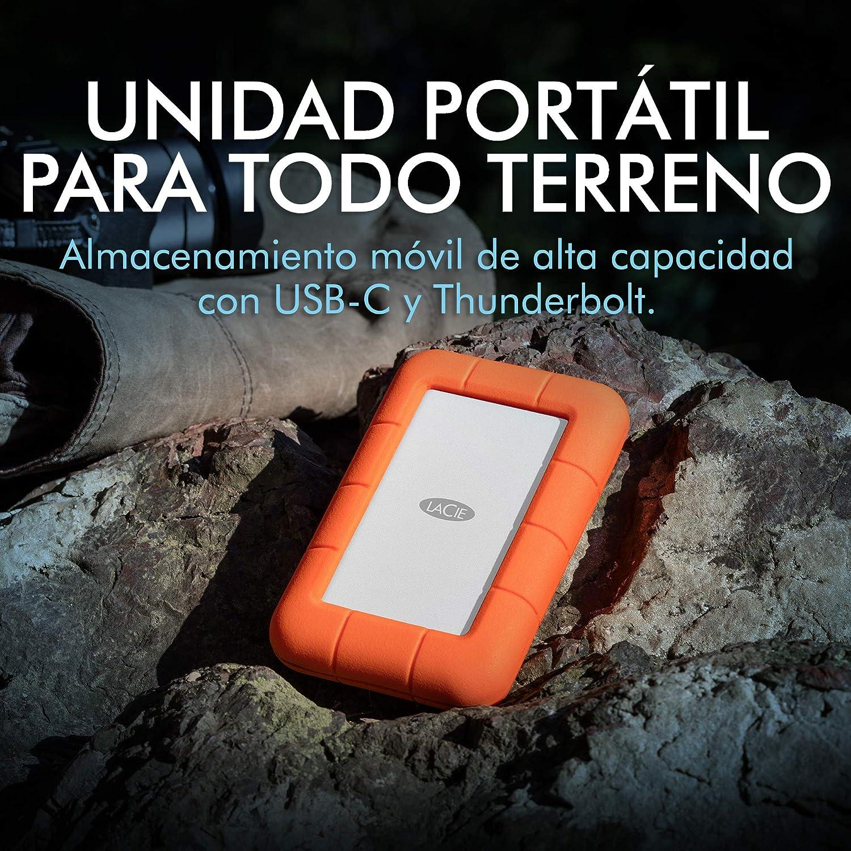 LaCie STFS500400 - Disco Duro Externo HDD, Thunderbolt, USB-C, 0.5 ...