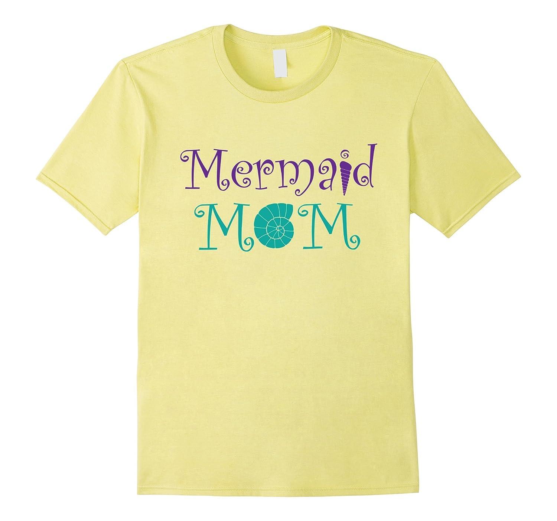Mermaid Birthday Shirt For Mom Momma Mother BN