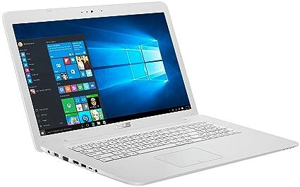 """F756UV-TY227T 2.50GHz i5-7200U 17.3"""" 1600 x 900Pixeles Blanco Portátil ordenador"""