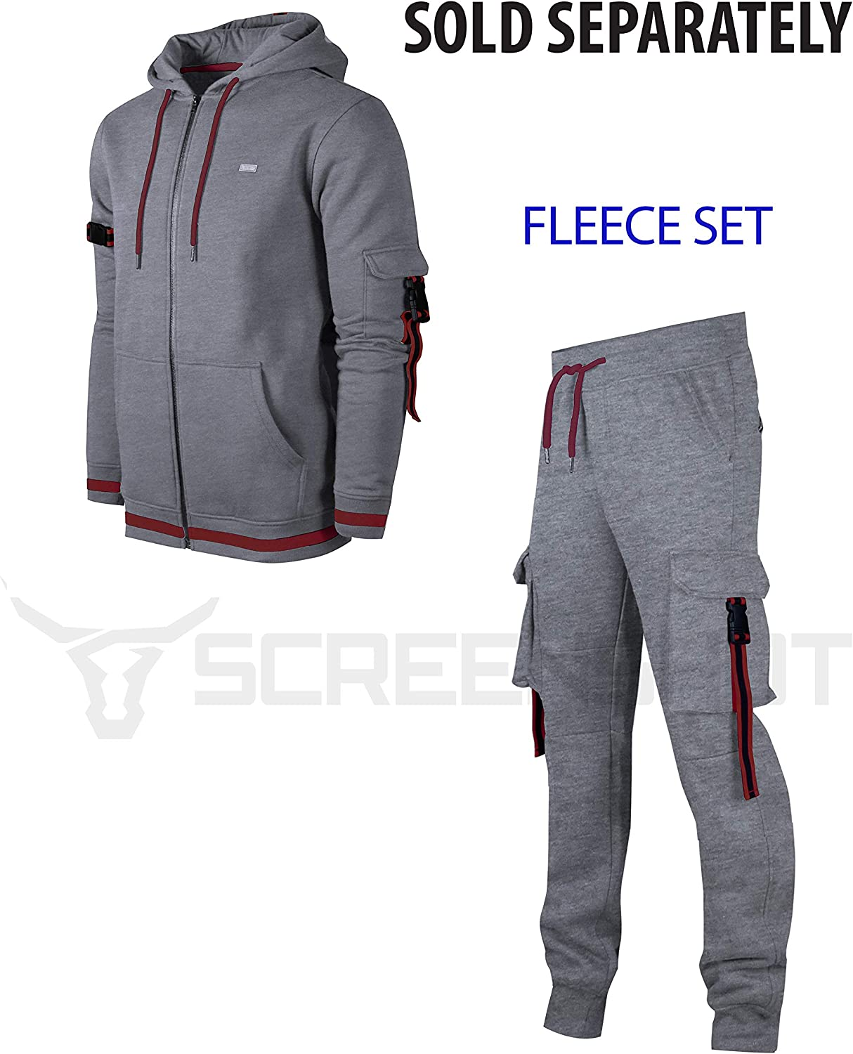 SCREENSHOT Sports Mens Premium TechFleece Fashion Hoodie Athletic Jogger Fitness Workout Gym Jacket