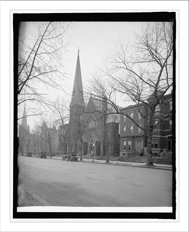 Historic Print (L): Vermont Ave. Christian Church, [Washington, D.C.]