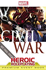 Marvel Heroic Roleplaying: Civil War Event Book Premium Hardcover