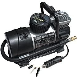 JACO RoadPro Tire Inflator Pump - Premium 12V Portable Air Compressor - 100PSI
