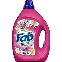 Fab Fresh Franpipani, Liquid Laundry Washing Detergent, (packaging may vary), 2 Liters