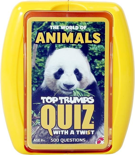 Top Trumps - Juego de Preguntas sobre Animales (en inglés): Amazon.es: Juguetes y juegos
