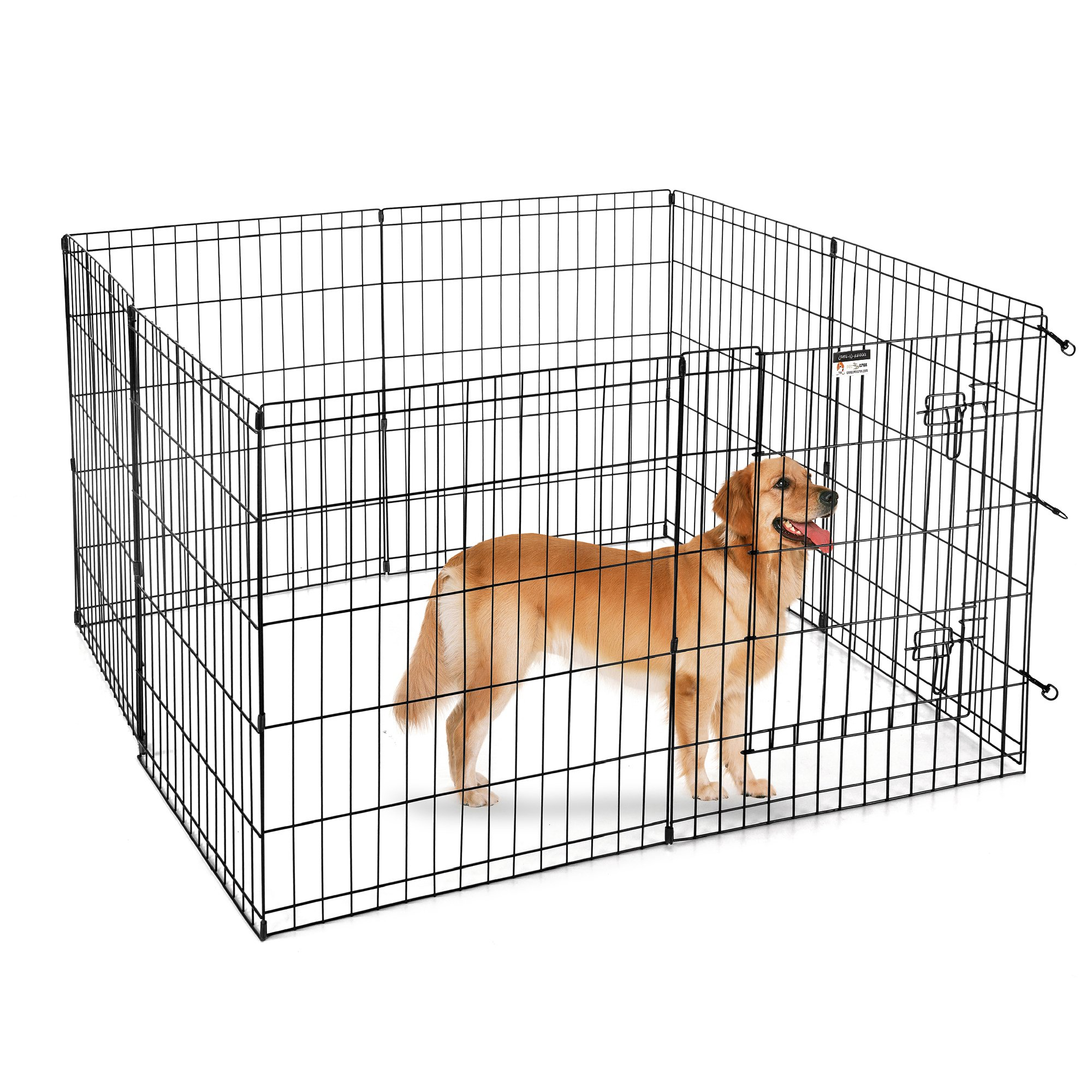 Pet Trex 30'' Playpen for Dogs Eight 24'' Wide x 30'' High Panels by Pet Trex (Image #4)