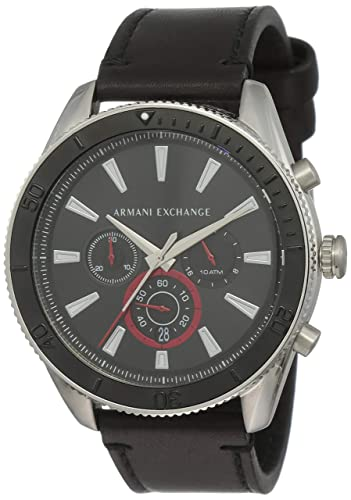 645d2d69 Amazon.com: Armani Exchange Men's Stainless Steel Analog-Quartz ...