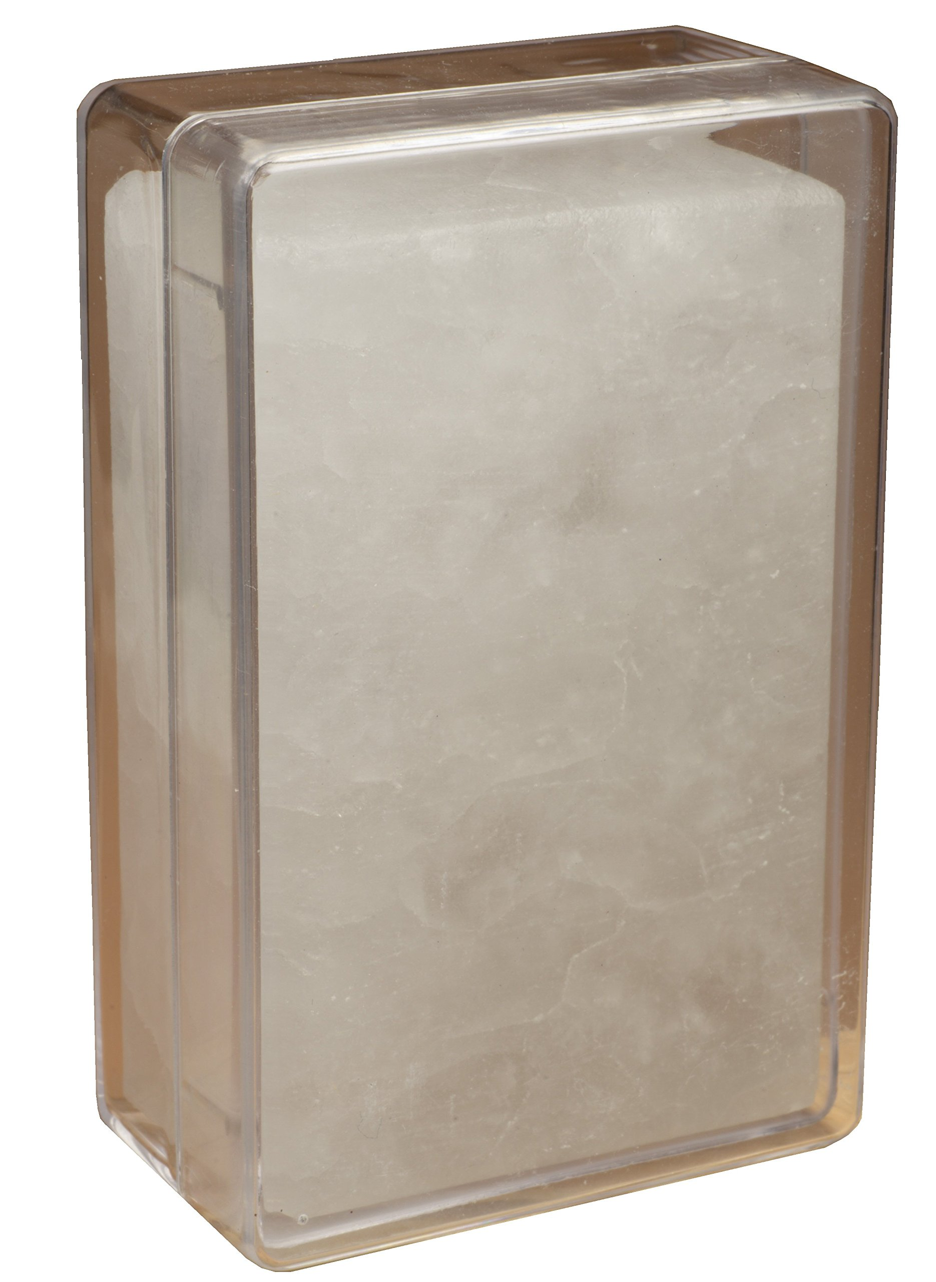 Osma Bloc - Alum Block (Soothes Shaving Irritation) With Clear Perspex Case 100g