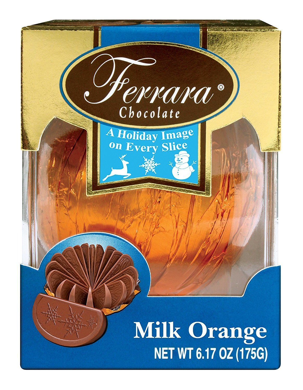 Amazon.com : Ferrara Candy Premium Milk Chocolate Orange Ball ...