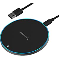 Sabrent 10W qi Wireless Fast Charger Charging Pad (Black)