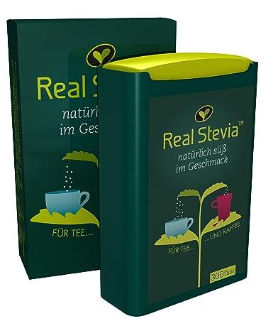 Real Stevia Real Stevia Tabs 300 Stück, 2er Pack (2 x 37 g): Amazon ...