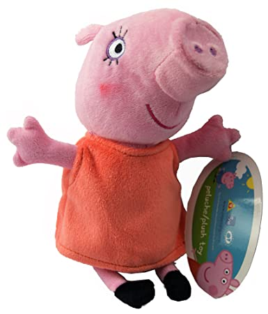 Adorable Original Peppa Pig Family & Friends Plush Toys, 8 Different Characters,8 assorted