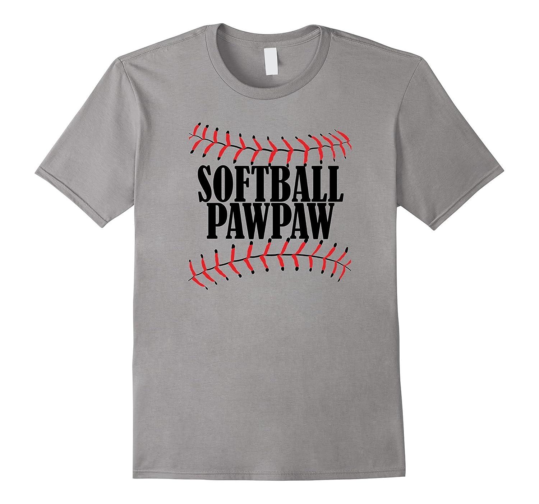 Softball PawPaw Tshirt Grandpa Grandparents Shirt-CD