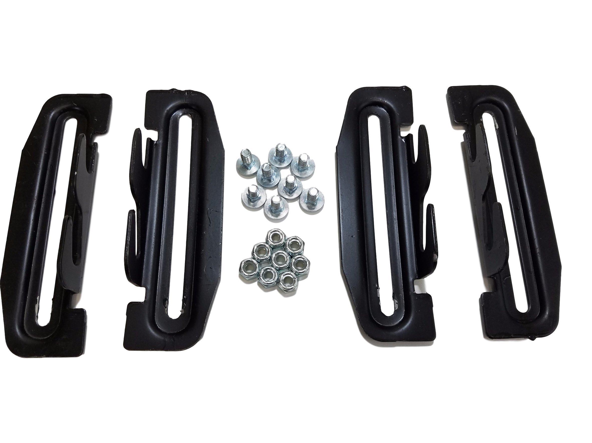 True Choice Headboard Footboard Bolt On to Hook On Plate Adapter Kit #35