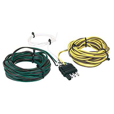 Hopkins 48245 4 Wire Flat 20' Trailer End Y-Harness, 20 Feet: Automotive