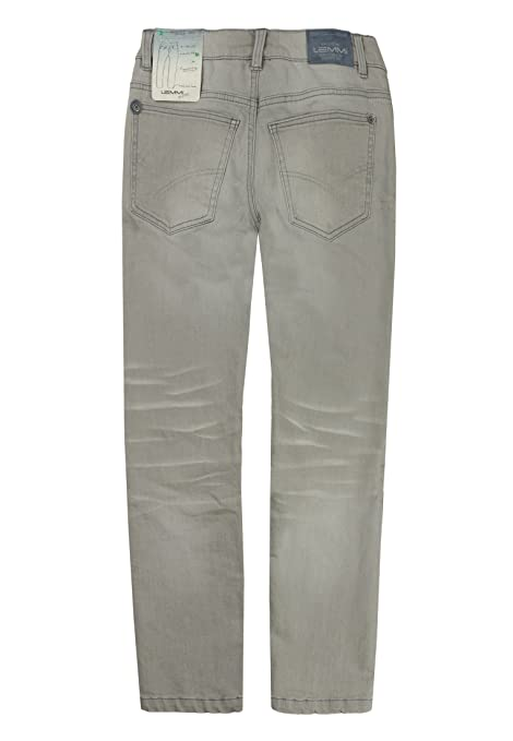 Lemmi Boy's Hose Tight Fit Big Jeans, Grau (Light Grey Denim 0017), 10  Years: Amazon.co.uk: Clothing