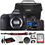 Canon EOS 6D DSLR Camera (Body Only) (8035B002) + Canon EOS Bag + Sandisk Ultra 64GB Card + Cleaning Set and More (International Model)