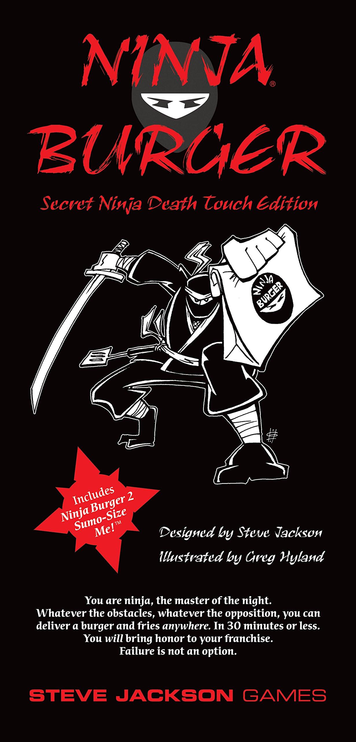 Ninja Burger: Secret Ninja Death Touch Edition: Amazon.es ...