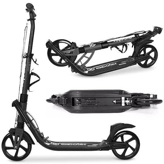 Amazon.com: exooter M2050 9 x l adulto Cruiser – Ruedas Kick ...