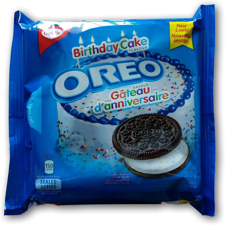 Outstanding Pack Of 3 Oreo Birthday Cake Sandwich Cookies 303G Oreo Cookies Funny Birthday Cards Online Benoljebrpdamsfinfo