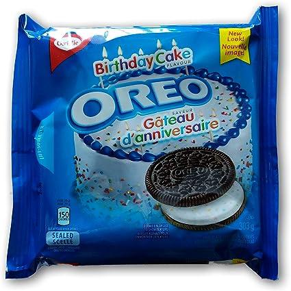 Fantastic Pack Of 3 Oreo Birthday Cake Sandwich Cookies 303G Oreo Cookies Funny Birthday Cards Online Alyptdamsfinfo