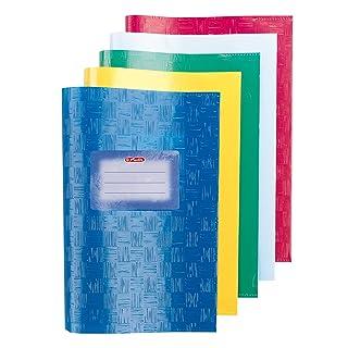 Herlitz libro in PP, confezione da 5 fogli, 2 x 5 cm, colori assortiti
