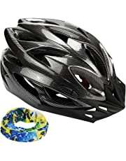 Zacro Bike Cycle Bicycling Helmet 54-62cm Lightweight Skate Road Cycling Racing Helmet Specialized for Mens Womens Kids Boys Girls Safety Protection CPSC & CE Certified Road Helmet with Sport Headband