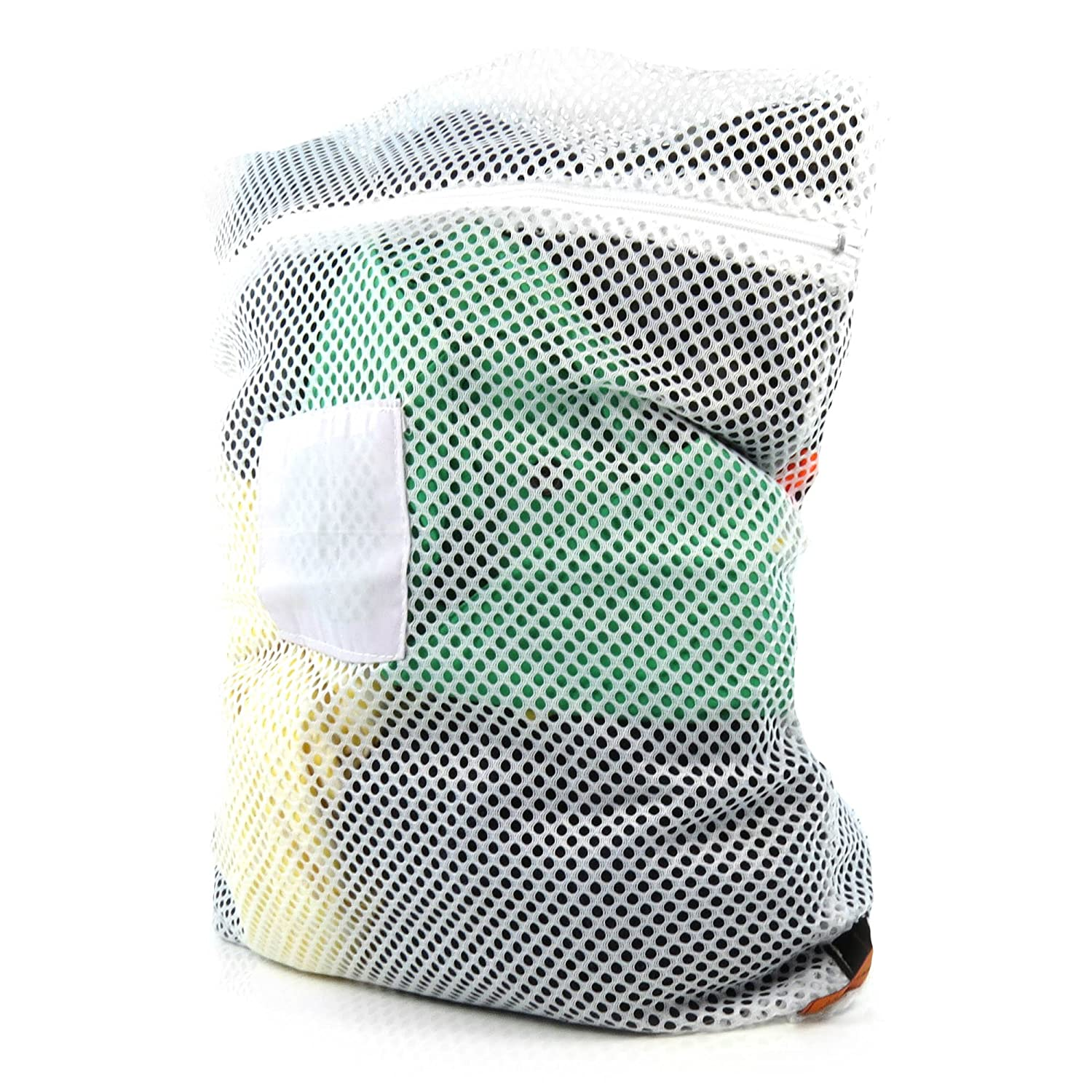 Hangerworld Professional Mesh Net Laundry Washing Bag with Zip - 24in X 17.5in - High Temperature Safe in Washing Machine or Tumble Dryer L-NETBAG-PROF-ZIP_1