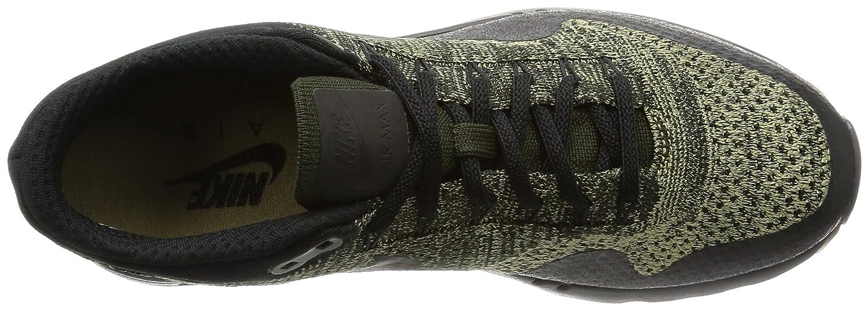 Nike Men's Air Max 1 Ultra Flyknit, BLACK/BLACK-ANTHRACITE B01M1J4LCH 12 D(M) US|Neutral Olive/Black/Sequoia
