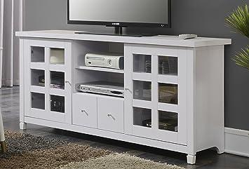 Amazon Com Convenience Concepts Newport Park Lane 60 Inch Tv Stand