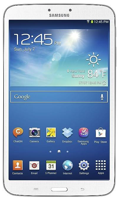 עדכני Amazon.com : Samsung Galaxy Tab 3 (8-Inch, White) 2013 Model QK-42