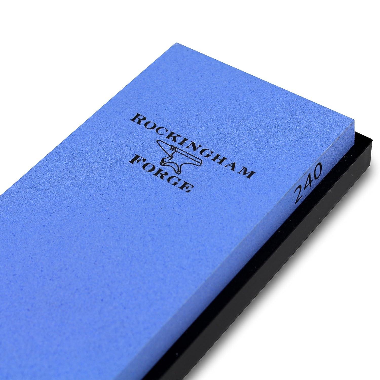 18 x 6 x 2 cm Blau Keramik Rockingham Forge RFW-186C Schleifstein