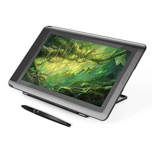 18 opinioni per Huion KAMVAS GT-156HD Tavoletta grafica con monitor IPS, 14 tasti