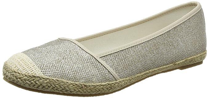Evans Glitter, Alpargatas para Mujer, Dorado (Gold 32), 40 EU: Amazon.es: Zapatos y complementos