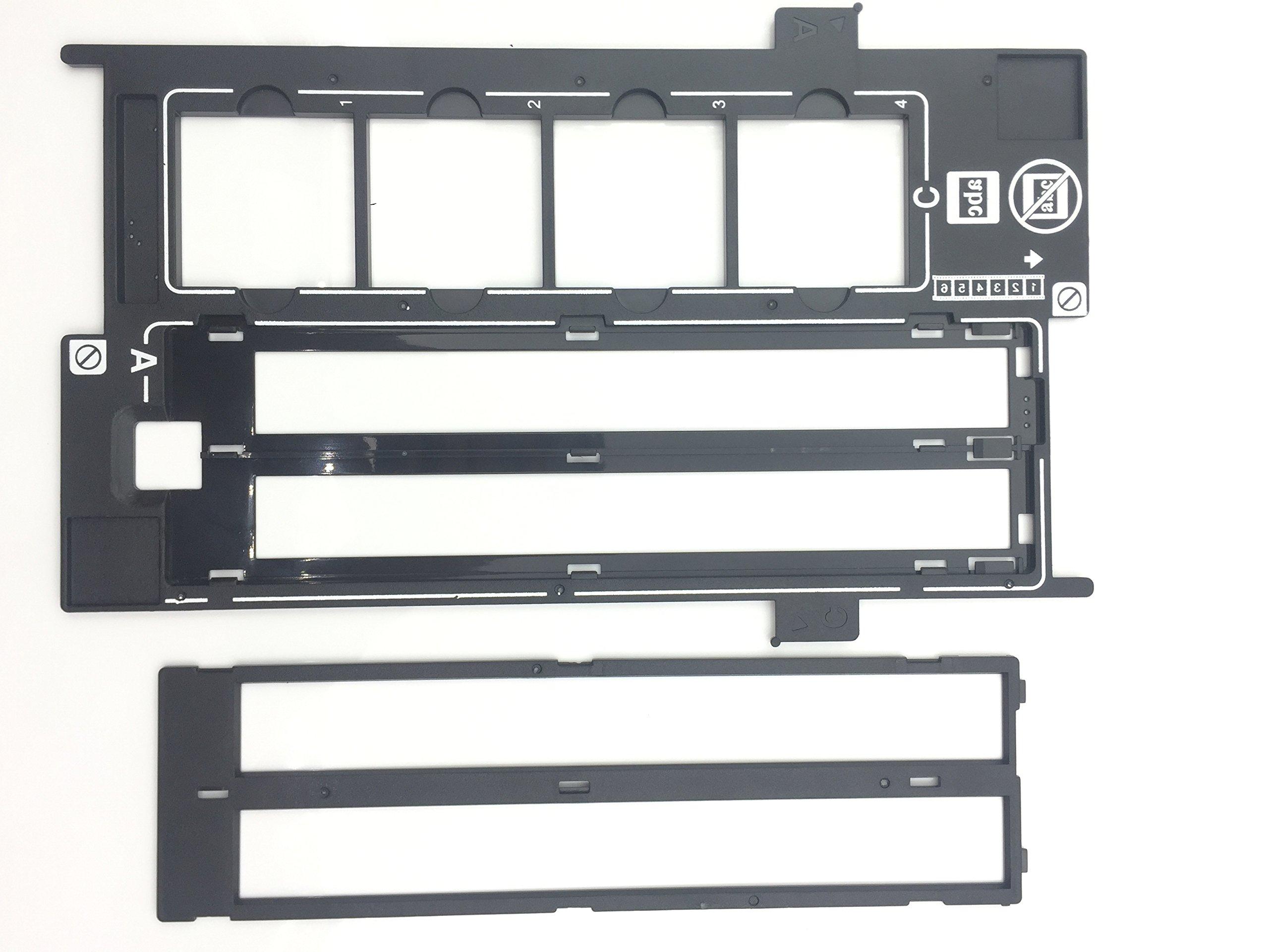 OKLILI 1423040 1403903 1401444 Photo Holder Assy Film Slide 35mm Negative Holder & Cover Halter Film Guide for Epson Perfection V500 V550 V600 4490 4990 2450 3170 3200 4180 X750 X770 X820