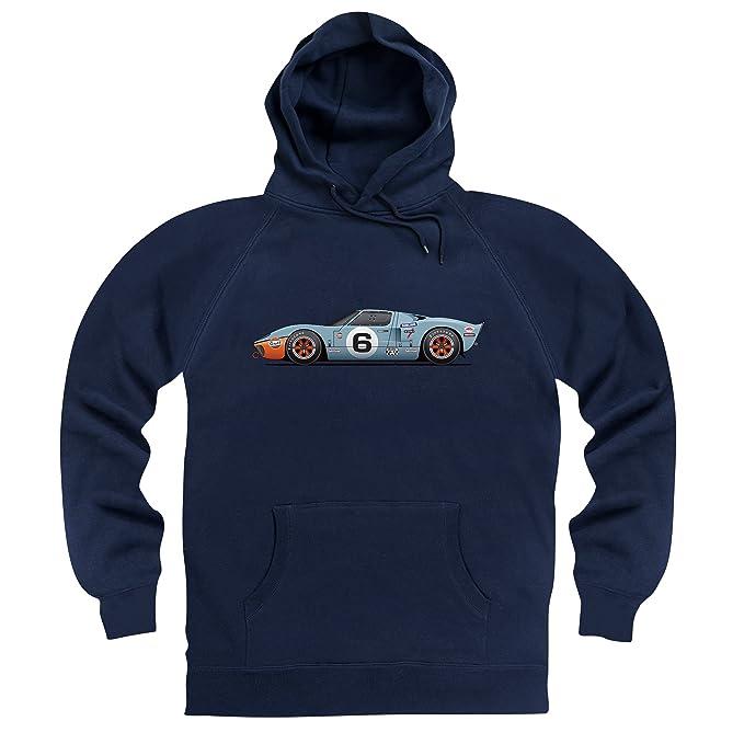 General tee GT40-A Super Car Sudadera con Capucha, para Hombre: Amazon.es: Ropa y accesorios