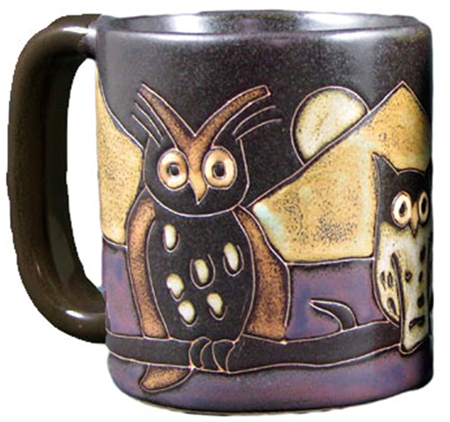 Mara Stoneware Mug - Night Owls - 16 oz