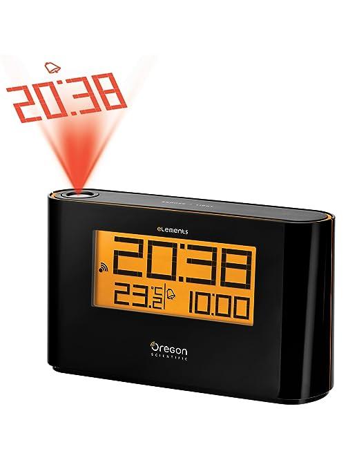 Oregon Scientific Reloj con proyector y temperatura: Amazon.es: Jardín