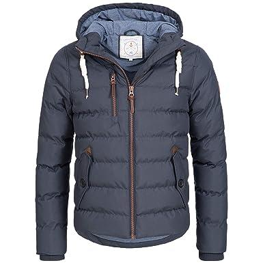 Azuonda Winter Jacke Herren Parka Winterjacke warm gefüttert Kapuze  2-Farben S-XXL Az104  Amazon.de  Bekleidung 8c220709c0