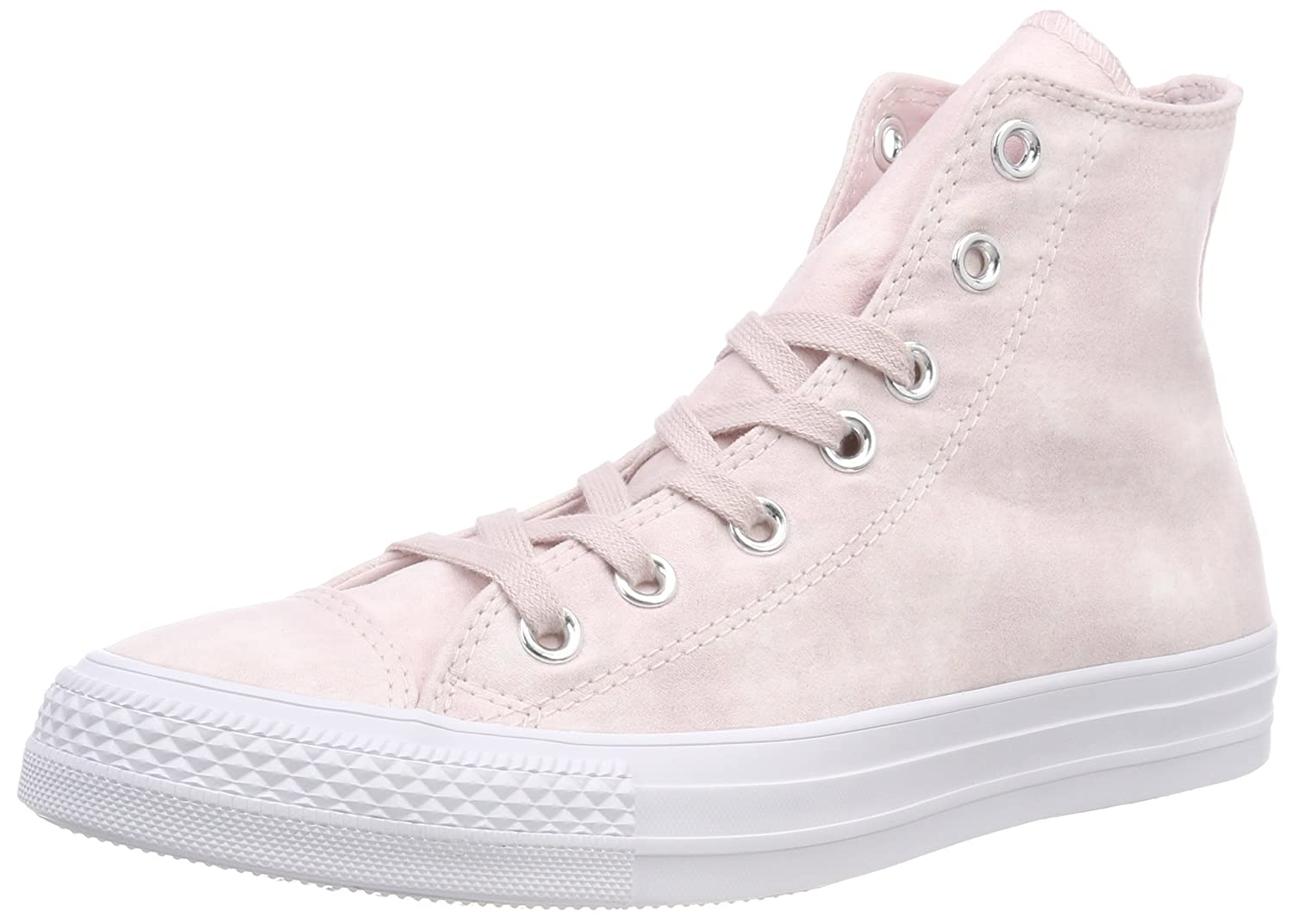 Converse Unisex-Erwachsene CTAS Hi Fitnessschuhe  39 EU|Pink (Barely Rose/Barely Rose/White 653)