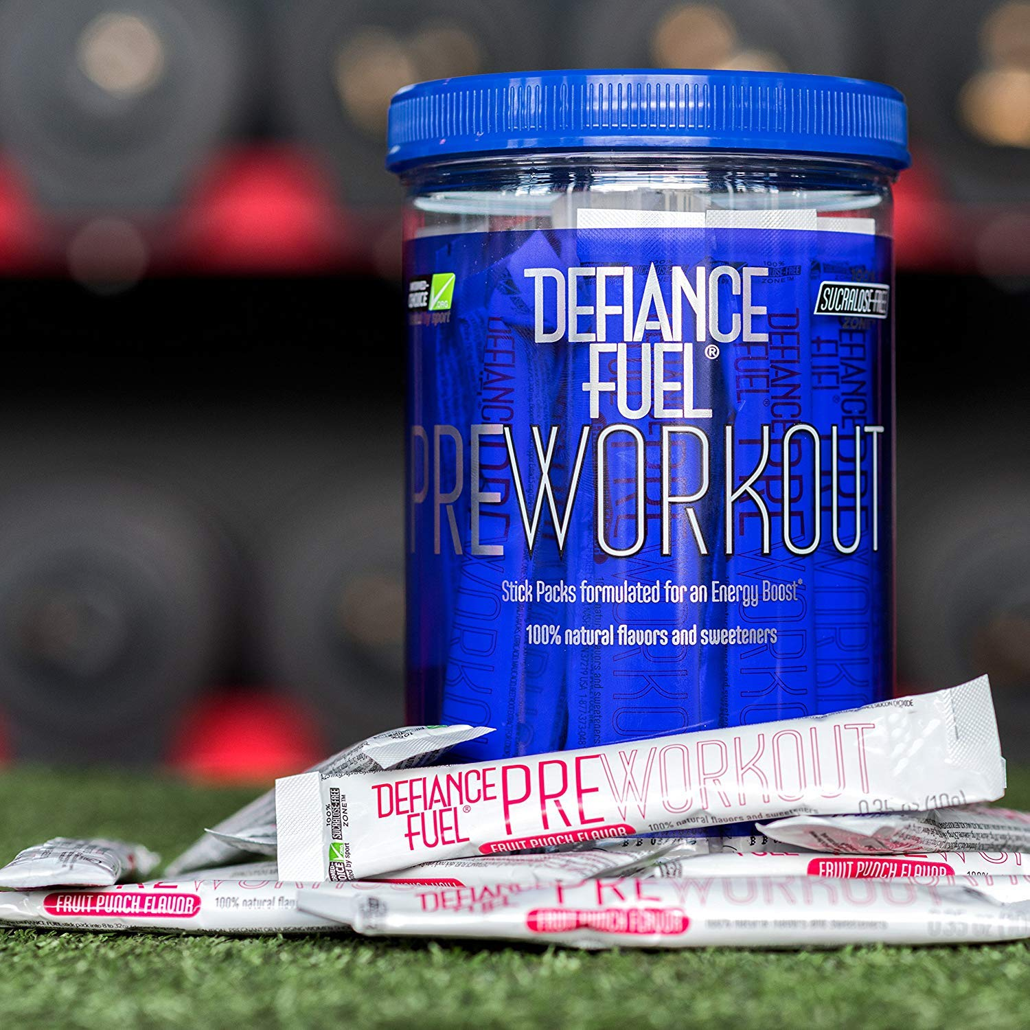 Defiance Fuel Pre Workout Powder Energy Drink w/ Beta Alanine, Taurine and Amino Acids by Defiance Fuel (Image #3)