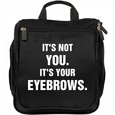 Not You But Your Eyebrows: Port Authority Hanging Makeup Bag