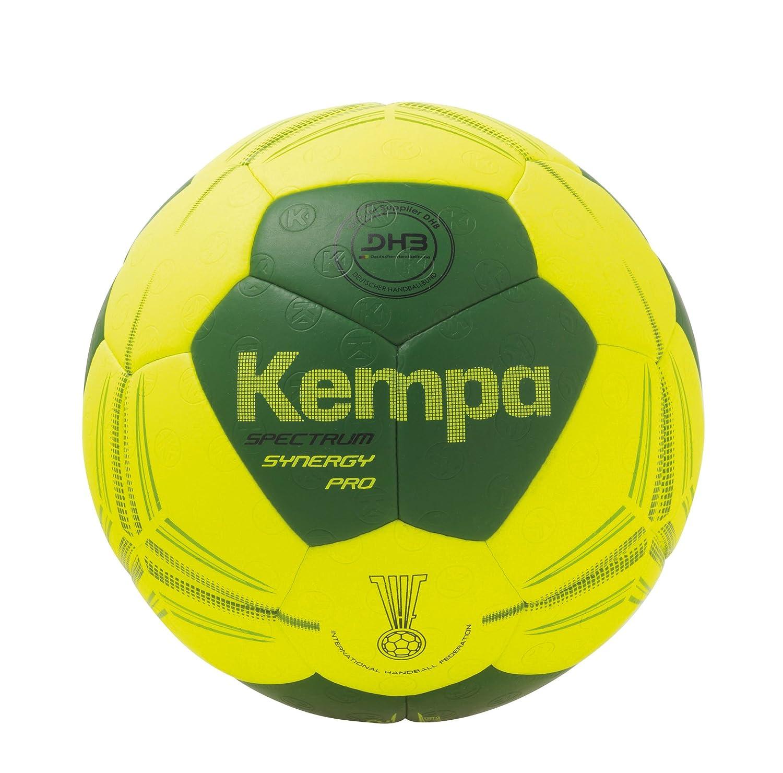 Kempa Spectrum Synergy Pro Balón de Juego, Unisex, Amarillo (Flour ...