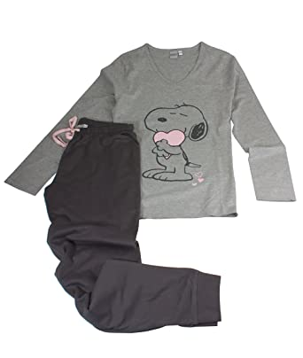 new product 55013 e026e Peanuts Pyjama für Damen