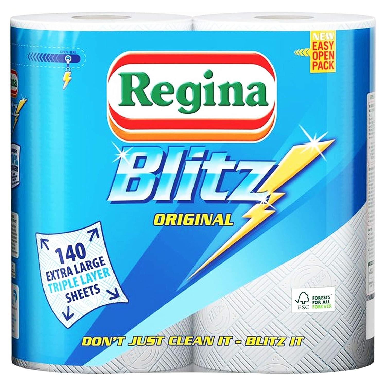 4 Rolls of Household Regina Blitz Kitchen Multipurpose Towels Super Strong STAR SUPPLIES