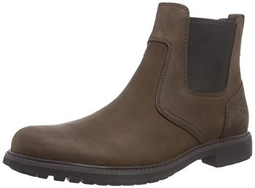 bcbf54047b4483 Timberland Men's Earthkeepers Stormbucks Chelsea Boots, Brown (Burnished  Dark Brown Oiled), ...