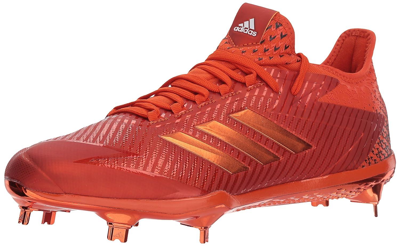 adidas Men's Adizero Afterburner 4 Baseball Shoe B07457YWC1 8 D(M) US|Collegiate Orange, Collegiate Orange, Ftwr White