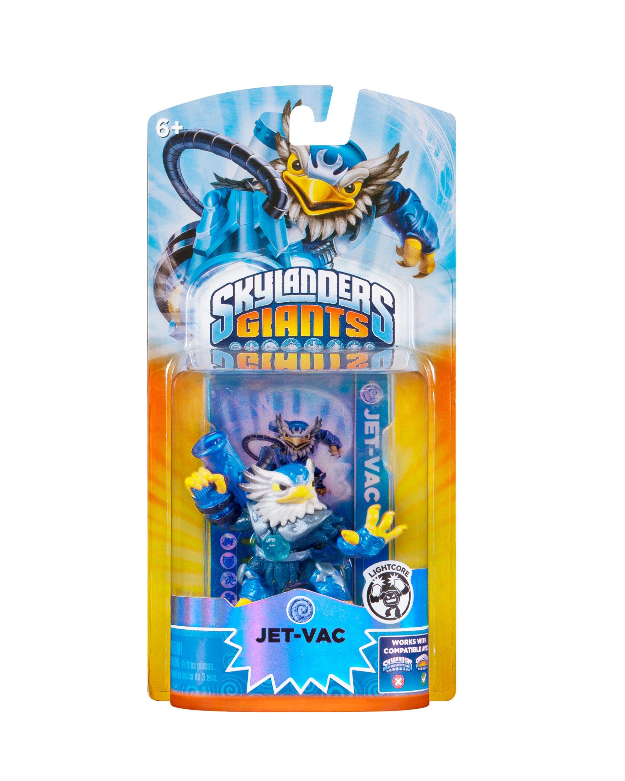 Amazon.com: Skylanders Giants: Lightcore Jet-Vac Character: no ...