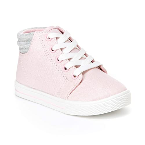5e1207c5f Amazon.com: Simple Joys by Carter's Toddler and Little Girls' (1-8 yrs)  Cora Gliter High-Top Sneaker: Shoes